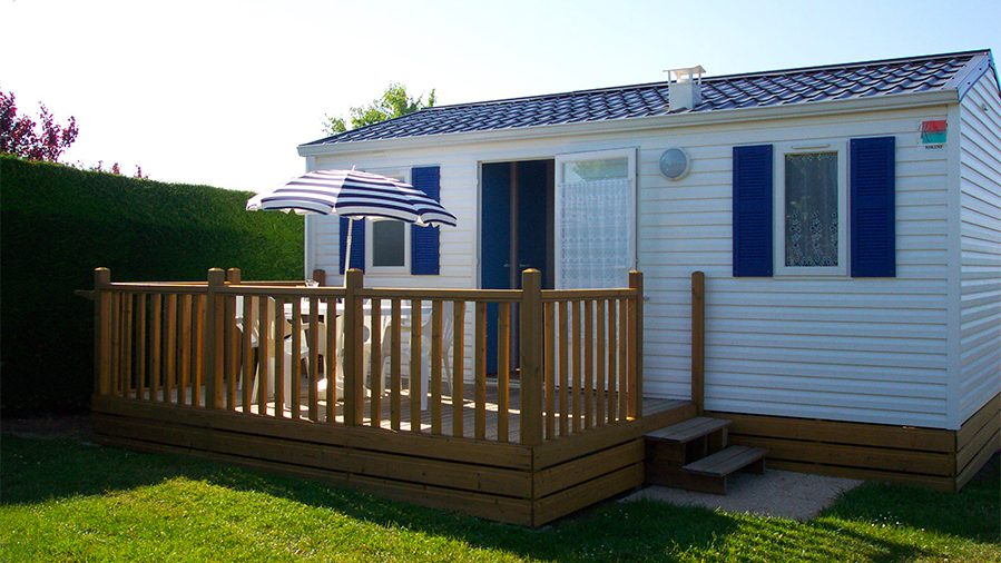 Mobil-home Camping les roches