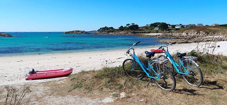 vélos électriques au Camping Les Roches